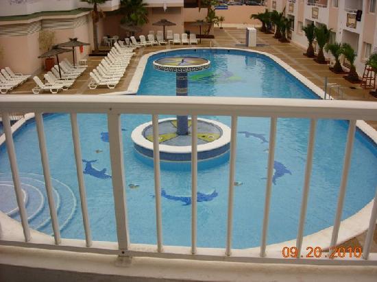 Hoteles Apartamentos Lux Mar : La piscine