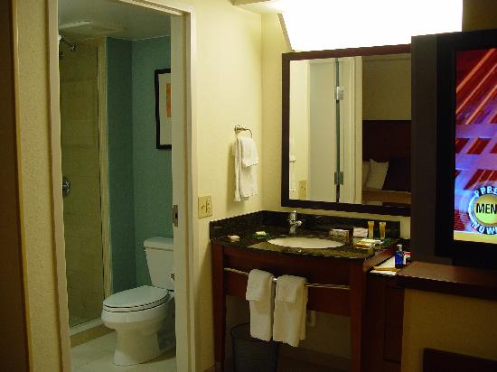 Hyatt Place Lake Mary/Orlando-North: bathroom