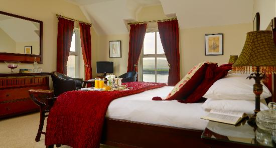 Castlewood House: A Junior Suite overlooking Dingle Bay