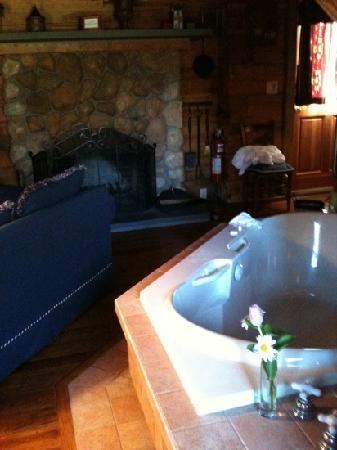 Arrowhead Inn: living room