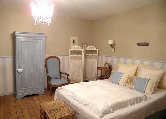 """L'Estran : La jolie chambre """"la sardine aux yeux bleus"""""""