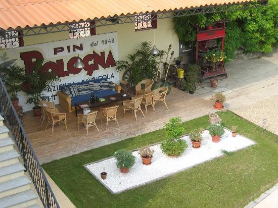 PinBologna Residence: Genußterasse