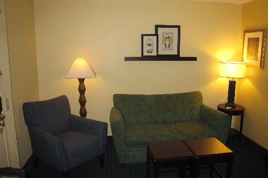 SpringHill Suites Houston Hobby Airport: Living Room area