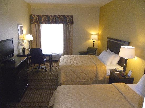 Comfort Inn & Suites Regional Medical Center: Queen Room