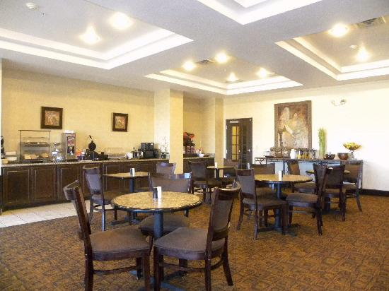 Comfort Inn & Suites Regional Medical Center : Breakfast Room