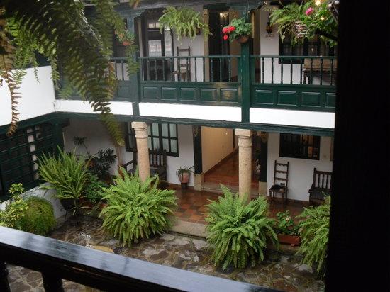 Hotel Antonio Narino: Patio interior