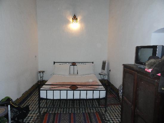 Dar Bouanania: Habitación de 4 personas.