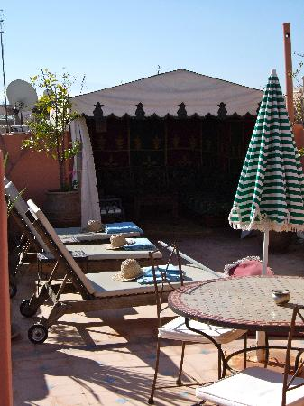 Riad Jonan: Roof Terrace