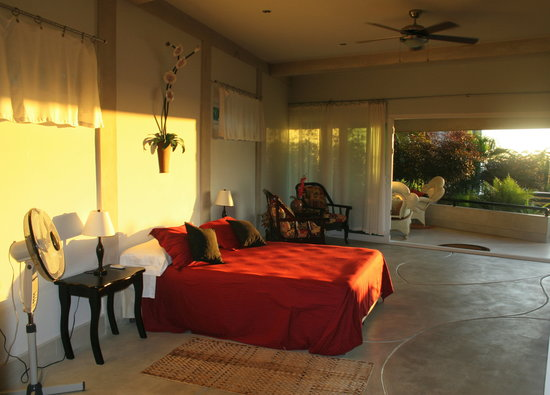 Orquidea del Sur: Large suite with Wide Patio and Ocean view