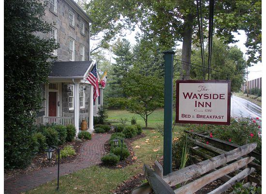 The front of The Wayside Inn