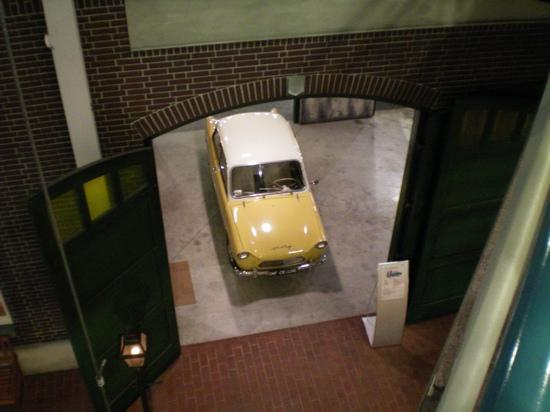 Daf car in the Daf museum Eindhoven
