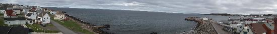 Grand Bank, Canada: Panoramic view from the widows walk!