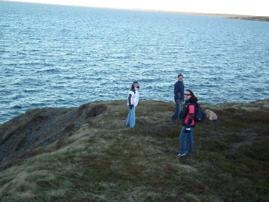 The Thorndyke Bed and Breakfast: Wonderful oceanside hiking!