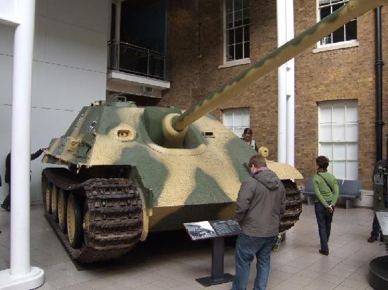 Museo Imperial de la Guerra: carro armato