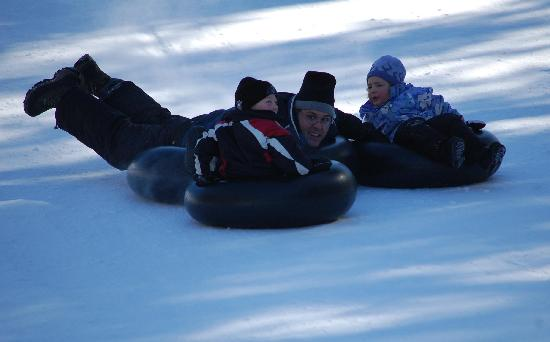 Ridin-Hy Ranch Resort: Tubing as a Family