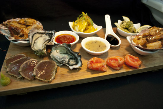 The Gables Restaurant: Seafood Tasting Platter
