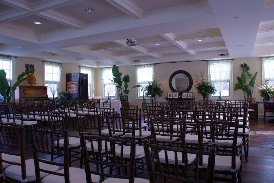 Rawley Resort: Ceremony room