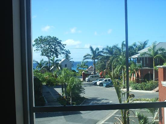 Courtyard Bridgetown, Barbados: View from our window.