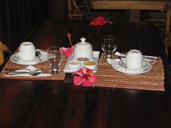 Aldeia da Mata Eco-Lodge : table setting