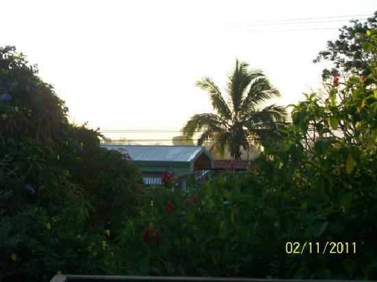 Vista Linda Montaña: View from 2nd floor room
