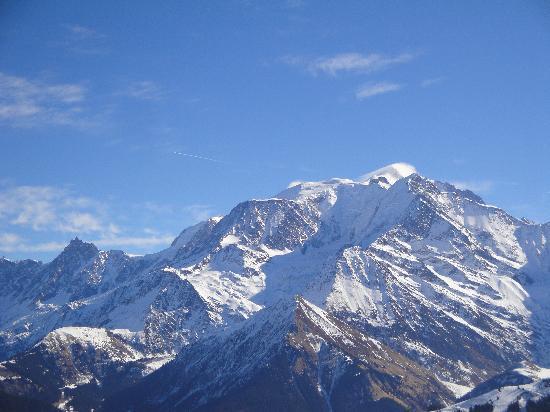 Megève, Francia: Mont Blank