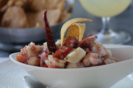The St. Regis Punta Mita Resort: Ceviche a must