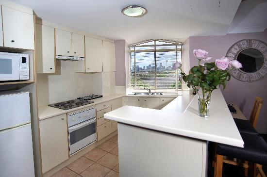 Adara Camperdown: Full kitchen facilities for 1 & 2 Bedroom apartments