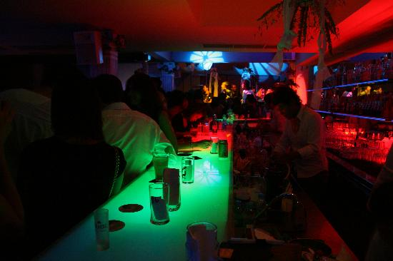 Titanium Bar: Sitting at the Bar