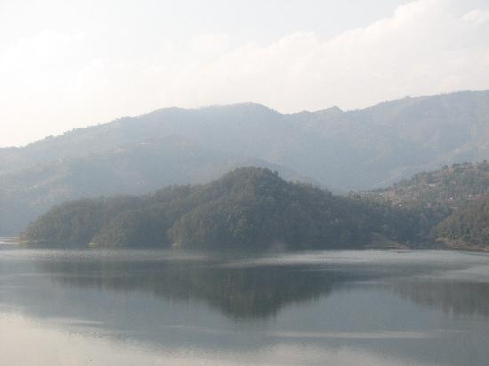 Begnas Lake Resort: view from window2