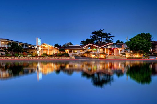 Monterey Bay Lodge overlooking Lake El Estero