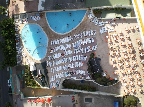 Dynastic Hotel : vu de la chambre