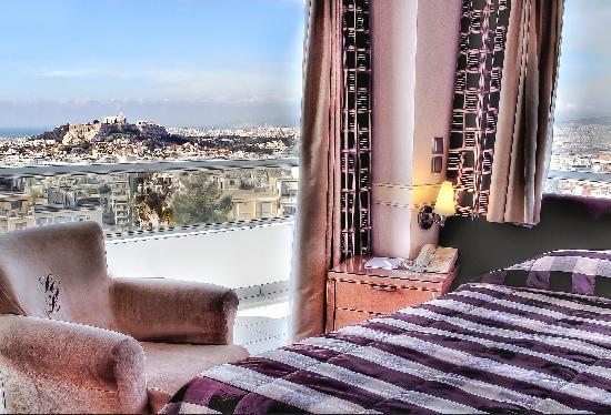 Saint George Lycabettus: Deluxe Acropolis view room
