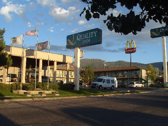 Quality Inn Cedar City Utah