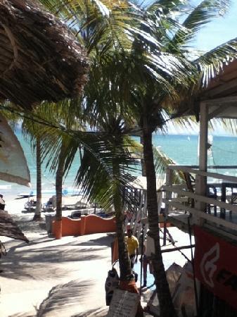 Hotel Surf Paradise: Frente a la playa