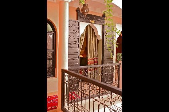 Riad Dar Radya: balcon