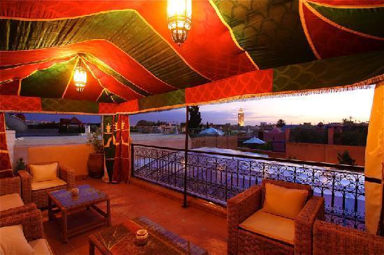 Riad Dar Radya : tante berbere vue splendide