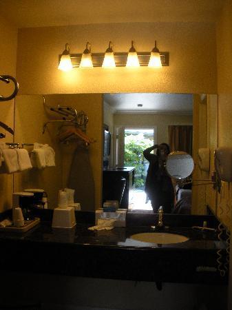 Monterey Surf Inn: Vanity area!