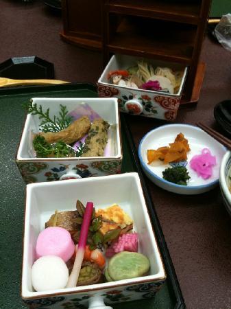 Ibusuki Royal Hotel: 料理1