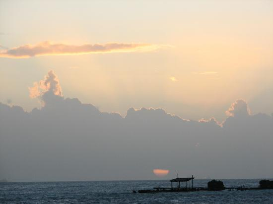 Beautiful sunsets at Paradise Found