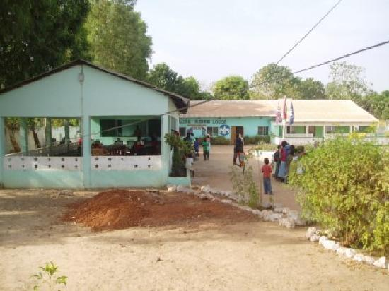 Kaira Konko Lodge and Scout Centre: The Banter Bar and main building