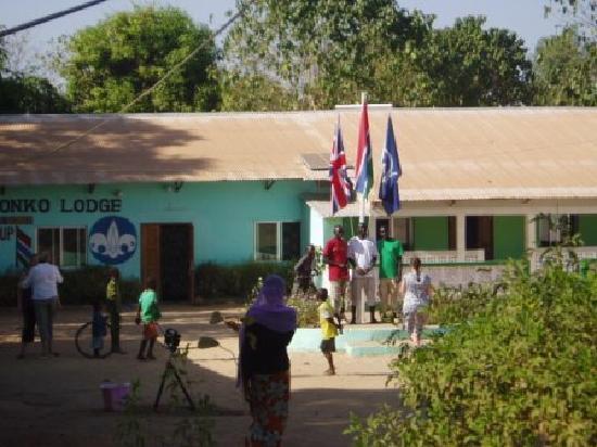 Kaira Konko Lodge and Scout Centre: The flag pole