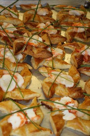 Lee's Spa City Grill: Lobster Pinwheels