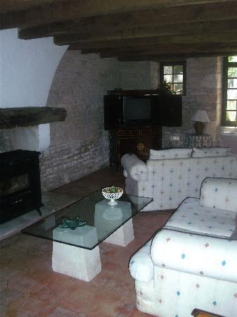 Le Logis de L'Espoir : Sittingroom for Guests