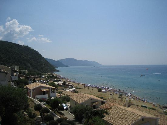 Glyfada, Greece: View from menigos resort