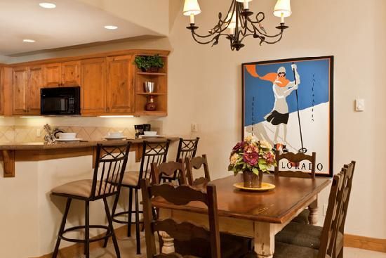 EagleRidge Lodge: Dining Area of 2 Bedroom