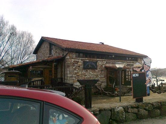Reinosa, Spanje: entrada al restaurante