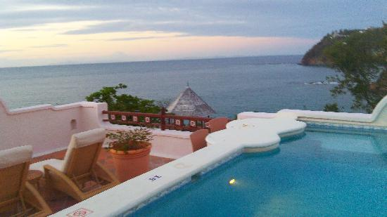 Cap Estate, Saint Lucia: Our private pool