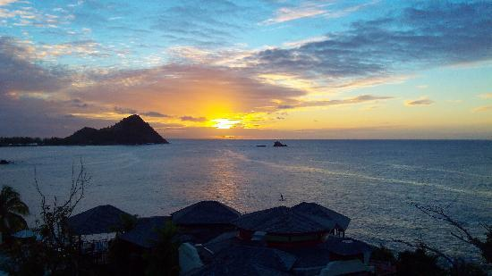 Cap Estate, St. Lucia: Sunset