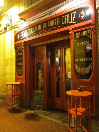 Bodeguilla de la Santa Cruz: locale