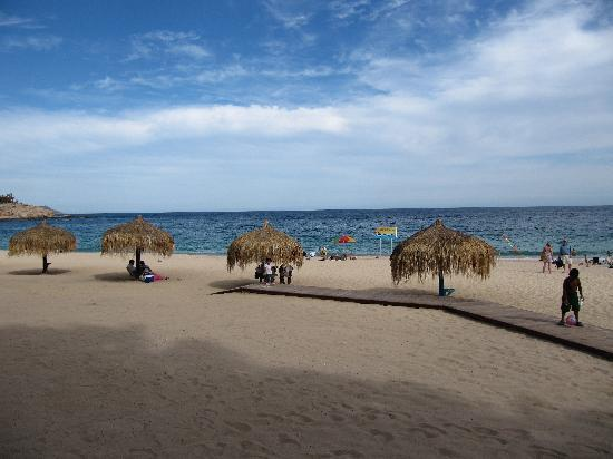 Chileno Beach : beach at Chileno Bay